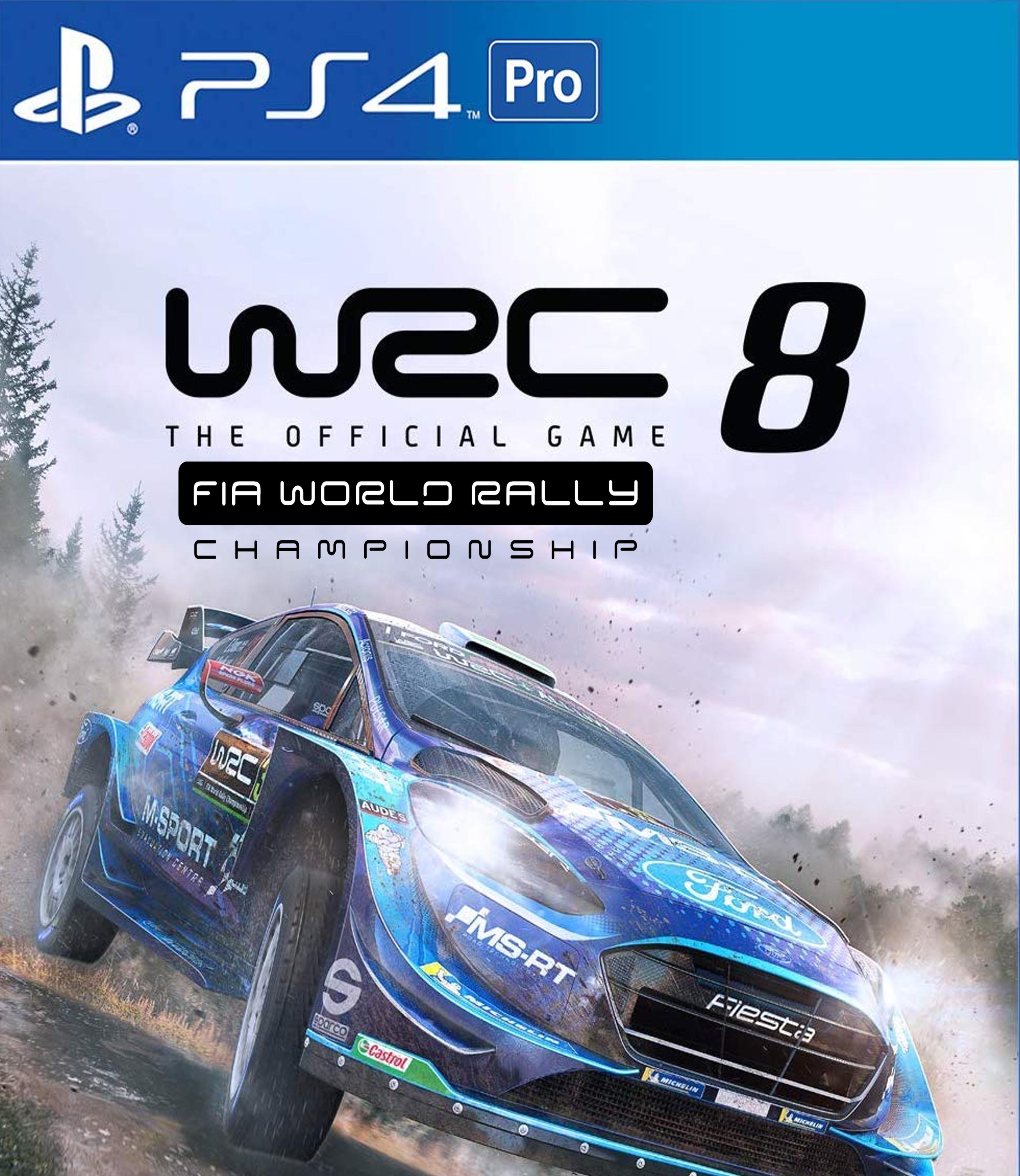WRC 8 World Rally Championship